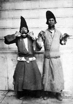 دلقک های دربار ناصرالین شاه