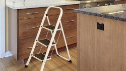 نردبان تاشو آشپزخانه - بانک اطلاعات بنا تا نما http://banatanama.ir مشاوره رایگان در کلیه خدمات ساختمان، فروش و نصب لوازم و مصالح ساختمان