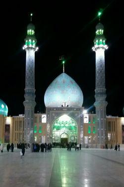 یه عکس خوشکل از مسجد مقدس جمکران ک خودم گرفتن
