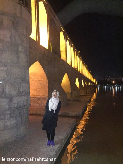 سلام به اصفهان خیلی زیبا