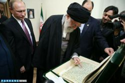 هدیه ی پوتین به رهبر معظم انقلاب