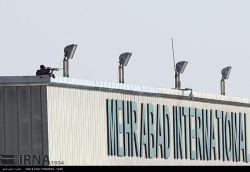 استقرار تک تیر انداز در فرودگاه مهرآباد ... در زمان ورود پوتین به تهران