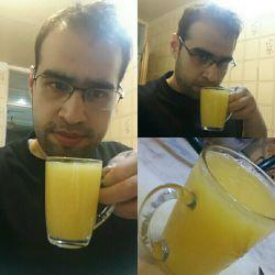 اینستاگرام : rezaadib  #orange #juice #lastnight