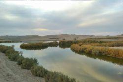 دریا چه مصنوعی در بیابانهای شهر یزد