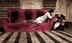 نمایی از تئاتر پوزه چرمی