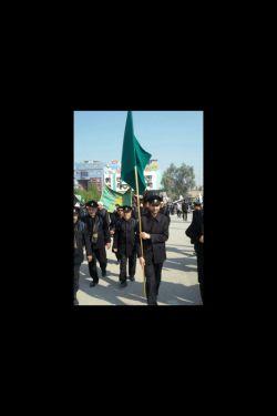 با خادمان رضوی در پیاده روی اربعین ابا عبدالله الحسین ع