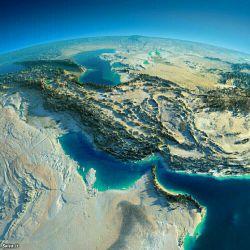 عکس ارسالی ماهواره ی از کشورعزیمان ایران