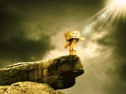 از پشت پنجره ایمانم خدا را می بینم چه باشکوه خدایی است ... در خنده هایش، داشته هایم را می بینم آغوشش را باز می کند نداشته هایم را دور می ریزم به سمتش می دوم دستانش را میگیرم و چند قدمی کنارش قدم می زنم  ...  به خودم به خدا به زندگی لبخند می زنم ... :)))