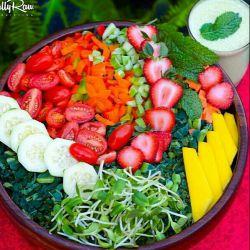 تمام آنچه برای بدن نیاز دارید در گیاهان و میوهها،  صیفیجات،  حبوبات یافت میشود
