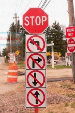 میگن نه راه پس داری نه راه پیش....دقیقا همینه