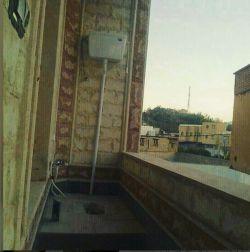 نصب توالت در فضای بالکن ساختمان