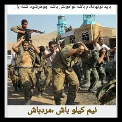 ماهنوز زنده ایم وبسیجی ایرانیم. نه قرمز نه سبز