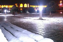 #برف#پل خواجو#اصفهان