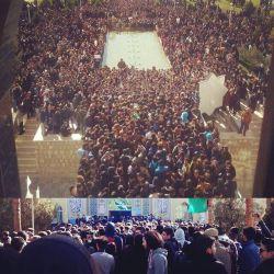 در ادامه پست قبل. اعتراض دانشجویان آزاد نجف آباد (۱۶ آذر) #روز_دانشجو_نامبارک #دانشجو #کولاک  @mohammadreza75