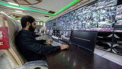 این تصاویر برای اولین بار در انظار عمومی قرار می گیرد _ اتاق کنترل پیاده روی کربلا توسط ایران _  از اینجا تا کربلا به طول ۷۰۰کیلومتر و عرض ۳۰۰کیلومتر همه چیز در اقتدار بچه های سپاه بود .