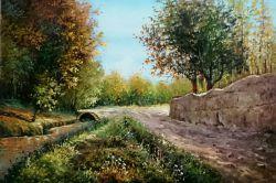 سلام دوستان، کوچه باغ پاییزی اطراف همدان که تازه تمومش کردم تقدیم به هنر دوستان عزیز....: )