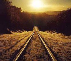 """قطاری سوی"""" خدا"""" میرفت,همه مردم سوار شدند...به بهشت که رسیدن همه پیاده شدن...و فراموش کردن که مقصد""""خدا""""بود نه بهشت"""