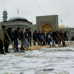 درفصل برف اسیر گرمای توام یا امام رضا(ع)♥♡♥♡♥♥♥♥♥