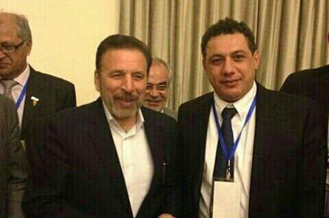 فردی که کنار وزیر فناوری اطلاعات ماست را می شناسید؟ نزار ذاکا (جاسوس لبنانی آمریکایی دستگیر شده) دقت کنید!