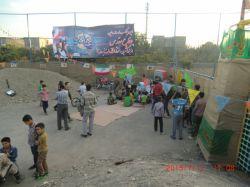 نمایشگاه هفته دفاع مقدس 94 در محله وکیل آباد