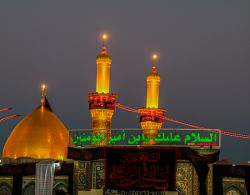 Iraq - Karbala - Shrine of Hazrat Abolfazl (AS) /// Canon 70D kit 24-105 /// photo by : Mohammad Sarayloo