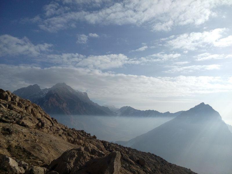 ما و ....... ارتفاعات .........در حال ........ وضعیت عالی