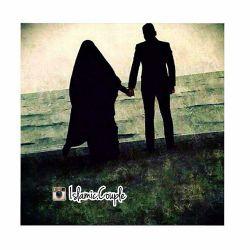 تو در قلب من جای داری و خدا در قلب تو!❤️ تـازه فهمیـدم. راز نزدیـک تـرشدنـم را بـه خـدا...  #متن_حجاب