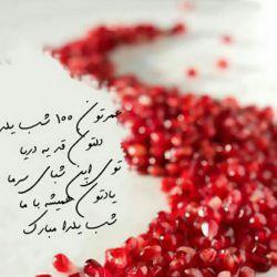 عمرتون 100 شب یلدا  یلداتون مباااارک