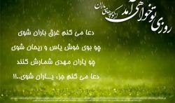 """دلم به """" مستحبی """" خوش است که جوابش """" واجب """" است///  السلام علیک یا بقیه الله فی ارضه..."""