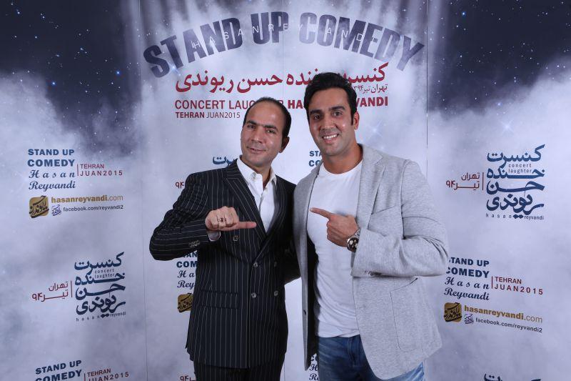 کنسرت خنده 4 تیر 94 حسن ریوندی - پوریا پور سرخ