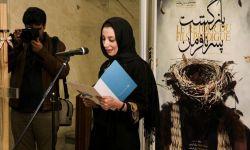 نمایی از مراسم افتتاحیه تئاتر بازگشت پسر نافرمان