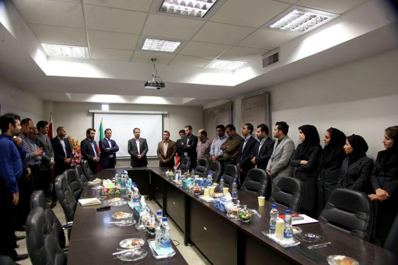 خداحافظی مهندس علیرضا طلوع مدیرعامل سابق جیرینگ با کارکنان شرکت