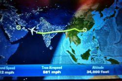 مسیر پروازی گوانجو تا دوحه قطر