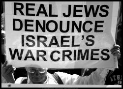 Real Jews denounce Israel's war crimes