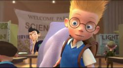 نمایی از انیمیشن ملاقات با خانواده رابینسون