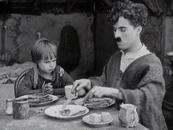 چاپلین در پسر بچه