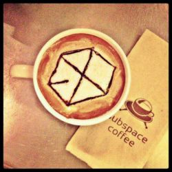 قهوه با طعم EXO