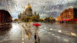 یک روز بارانی در
