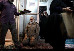 نماز سردار هم خیلی خاكیه!
