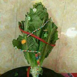 اینم درخت کریسمس ما ....خخخ