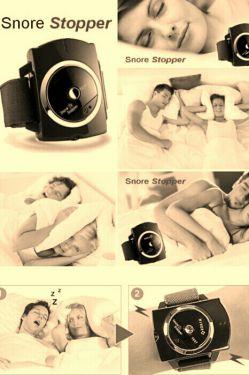 ساعت ضد خروپف برای خرید این ساعت به آدرس بازار کالاها مراجعه نمایید  www.bazarekalaha.ir