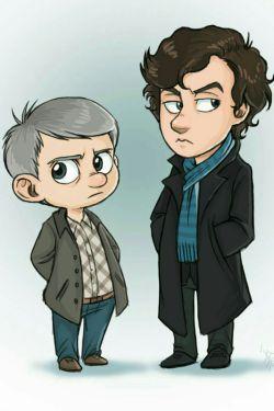 اقای شرلوک و دکتر واتسون ^-^