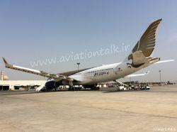 شاهکار ساخته شده به دست ایرباس ایرباس A330 هواپیمایی Gulf Air کشور بحرین