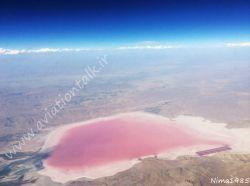 دریاچه مهارلو واقع در شرق شهر شیراز استان فارس