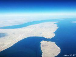 لحظاتی پس از ورود به کشور عزیزمون ایران و عبور از کنار جزایر زیبای قشم و هنگام
