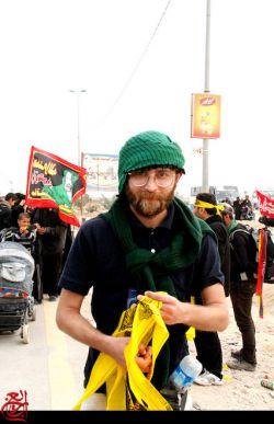 #پخش پرچم #بین زوار #حسینی#