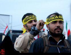 #بستن پرچم #برای زوار حسینی #
