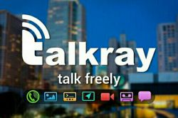 اپلیکیشن Talkray – Free Calls and Text  چت و تماس رایگان