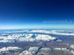 دنا بلندترین کوه از رشته کوه های زاگرس در مرکز فلات ایران با 40 قله بالای 4000 متر