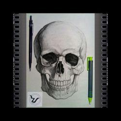 #Design_Training ........... The Topic Of The #Skull Subject ............. Check The #Skeleton #Portrait_Training ....... The Term #Foundation Free School Of Visual #Arts #RaHa  آموزش #طراحی .............. مبحث #جمجمه موضوع ............ بررسی #استخوان_بندی آموزش #طراحی_چهره . ترم #مقدّماتی آموزشگاه آزاد هنرهای تجسّمی #رها